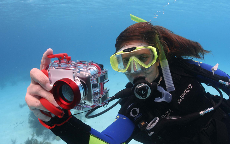 Underwater photo course at Cala D'or and Cales de mallorca and Cala Egos